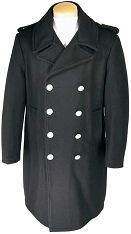 Fidelity Wool Naval Bridge Coat