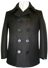 Fidelity Mens Naval Wool Peacoat
