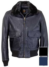 Schott FLT6 G-1 Soft Touch Leather Flight Jacket