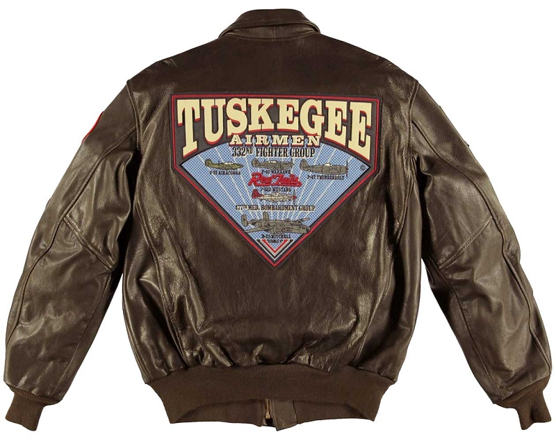 Cockpit Mens Tuskegee Airmen A 2 Flight Jacket