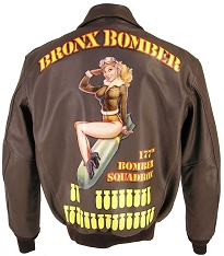 Custom Handpainted Nose Art for Jackets