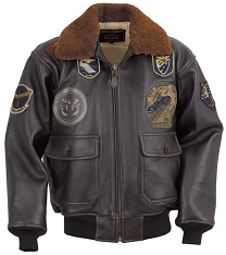 Schott Lambskin Wings of Gold G-1 Flight Jacket