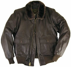 Legendary Hellcat G-1 Leather Flight Jacket w/Side Entry