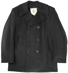 Sterlingwear Navigator Mens 100% Wool Peacoat