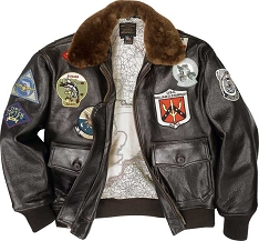 Cockpit Top Gun G-1 Lambskin Flight Jacket