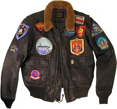 Cockpit Reproduction Top Gun G-1 Flight Jacket