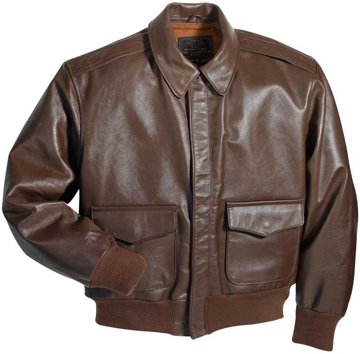 Cockpit Horsehide A-2 Leather Flight Jacket