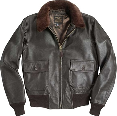 Cockpit Mil Spec USN G-1 Leather Flight Jacket