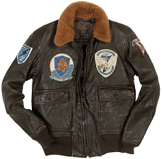 Cockpit G-1 Vintage Goatskin Leather Flight Jacket