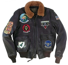 Cockpit A-6 Intruder Vintage G-1 Flight Jacket