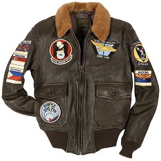 Cockpit China Lake Vintage G-1 Flight Jacket