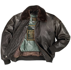 Cockpit B-15 Cowhide Flight Jacket