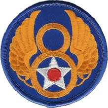 WWII 8th AAF Shoulder Patch