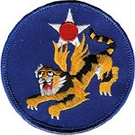 WWII 14th AAF Flying Tigers Patch