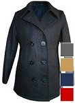 Fidelity Ladies Wool Naval Peacoat