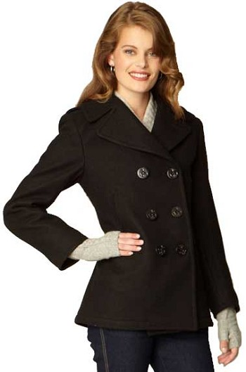 Sterlingwear Authentic Womens Wool Naval Peacoat
