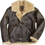 Cockpit British R.A.F. Sheepskin Bomber Jacket