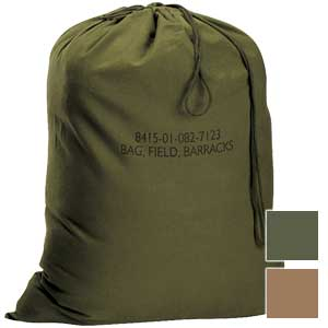 Rothco Military G.I. Type Canvas Barracks Bag