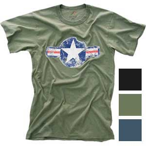 Rothco Mens Vintage Army Air Corps T-Shirt