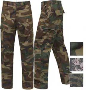 Rothco Mens Tactical Camouflage BDU Pants
