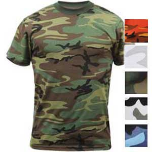 Rothco Mens Tactical Camouflage T-Shirt