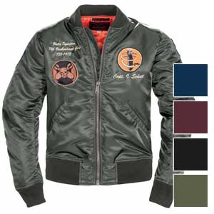 Schott NYC Mens 9726 13th Bombardment Group MA-1 Flight  Jacket
