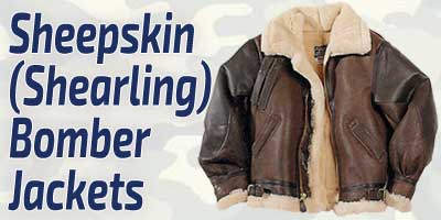 Sheepskin Bomber Jackets