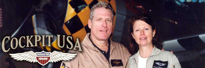Jeff and Jacky Clyman, Cockpit USA, formerly Avirex