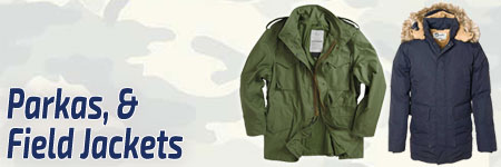 Tactical Field Jackets & Parkas