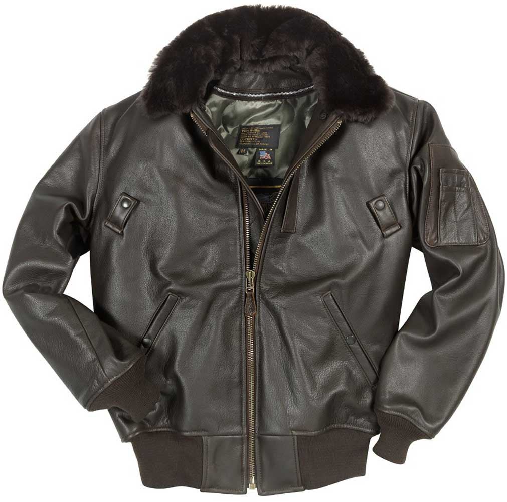 60fe1899dc8 Cockpit Mens B-15 Cowhide Flight Jacket