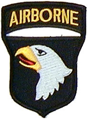 US Army 101st Airborne Screaming Eagles Shoulder Patch