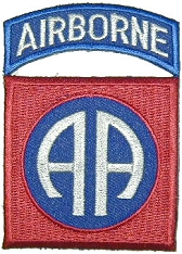 82nd Army Airborne Shoulder Patch