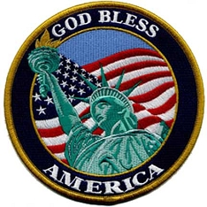 God Bless America Patch