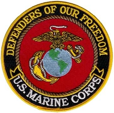 Defenders of Freedom Patch - US Marine Corps