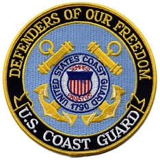 Defenders of Freedom Patch - US Coast Guard
