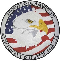 Proud To Be American Eagle Patch