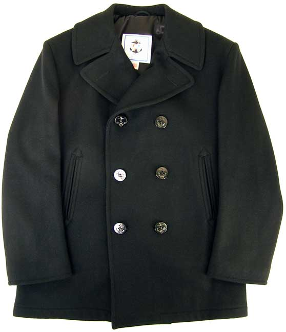 Navy Issue Pea Coat 3UqgpS