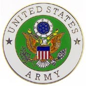 US Army Logo Pin
