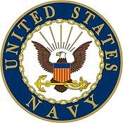 US Navy Logo Pin