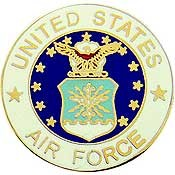 US Air Force Logo Pin