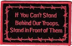 Stand Behind Our Troops Patch