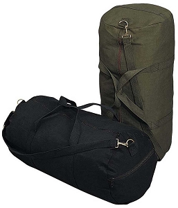Heavyweight Canvas Shoulder Duffle Bag