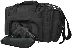 Rothco Mens Black Tactical Firearm Carry Bag