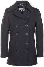 Schott NYC Womens 754W Wool Fashion Peacoat