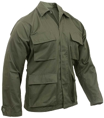 Rothco Classic BDU Battle Dress Uniform Olive Shirt