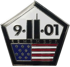 Remember 9-11 Lapel Pin