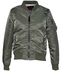 CLEARANCE - Schott NYC Womens 9720W Lightweight MA-1 Bomber Jacket