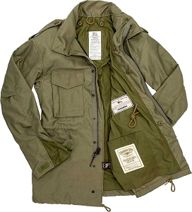 Cockpit Mens Military Spec M65 Field Jacket