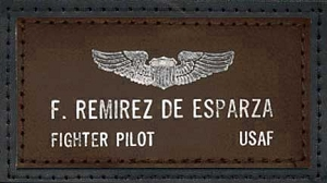 Military Spec Leather Name Tag for A-2 Flight Jackets