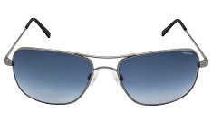 Randolph USA Archer Ruthenium Frame Gradient Blue Sunglasses